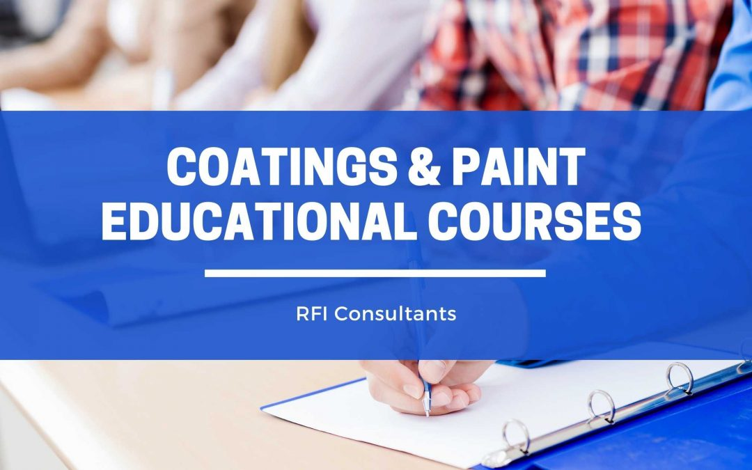 Coatings & Paint Educational Courses
